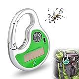 GuDoQi® Outdoor Solare Portatile Repeller della Zanzara Alimentata Ultrasonica della Zanzara Assassino con Bussola