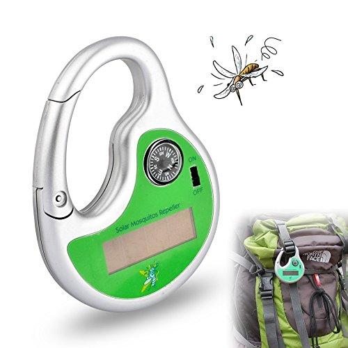 GuDoQii Al Aire Libre Repelente de Mosquitos Portátil Alimentado por Energía Solar...
