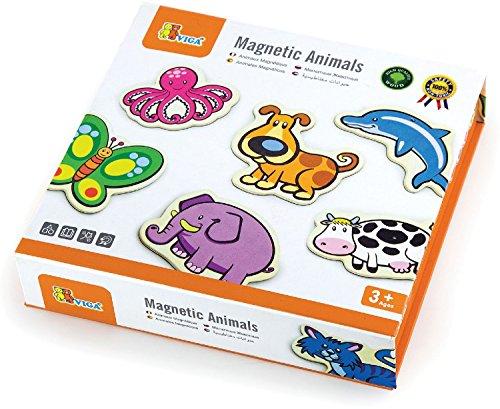Viga Toys - Magnete - Tiere (Kühlschrank-magnete Lernen)
