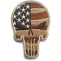 Minkoll cráneo Patch Táctica, Punisher cráneo de táctica Militar ejército gestickte Moral Pulsera Nadadores