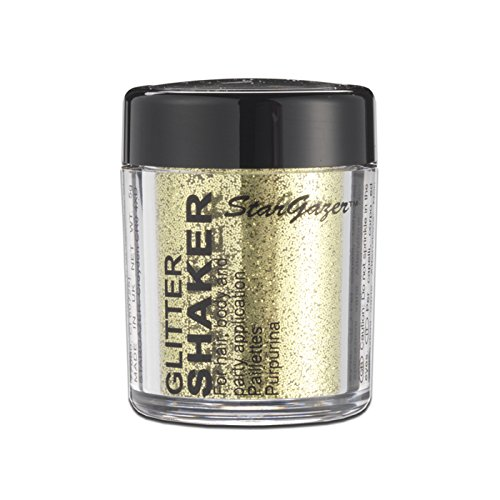 Gold-glitter Make-up (Stargazer Products Glitzer Streudose, gold, 1er Pack (1 x 5 g))