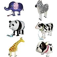 Signstek Set di 6palloncini di animali
