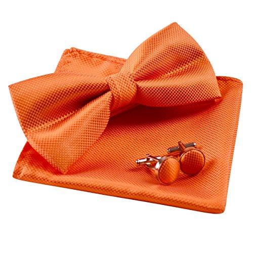 Enjoymore Herren Fliege Gr. onesize, Orange (Orange Fliege)