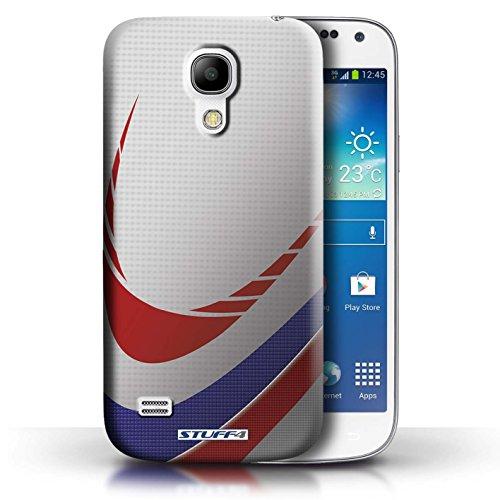 Coque en plastique pour Samsung Galaxy S4 Mini Collection Balle Sportif - Football Rugby