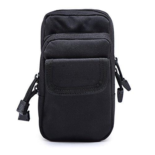 Reefa Outdoor Sport taktische Tarnung Multifunktions Ausrüstungs handlich Tasche Schwarz