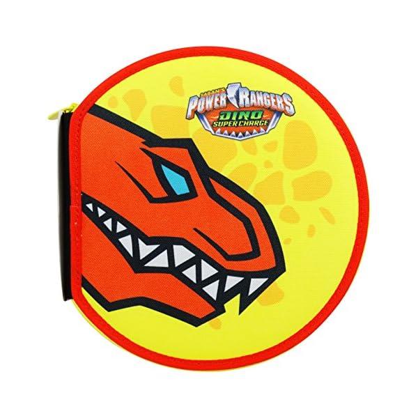 Power Rangers Dino Super Charges Estuche Escolar Làpices de Colores