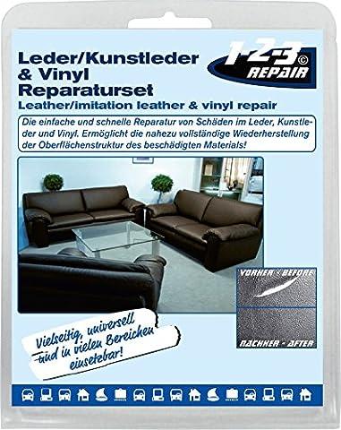 123Repair Leder-, Kunstleder - Reparatur Set 123005,