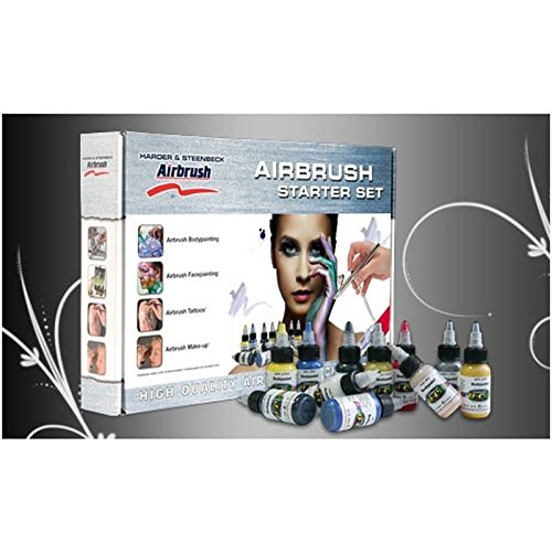 Body Edition Airbrush Starter-Set 125560 Airbrush Pistole -