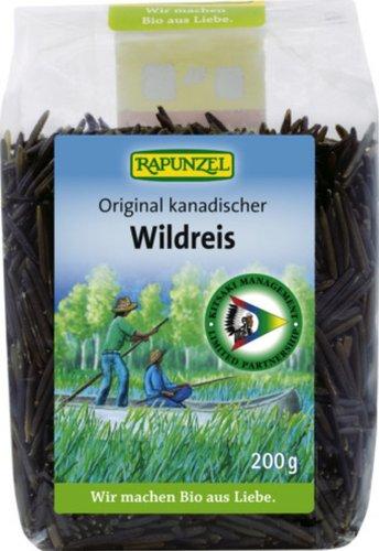 Rapunzel Wildreis natur, 1er Pack (1 x 200 g) - Bio (Bio-wildreis)