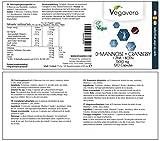 51 kVdGl48L. SL160  - D - Mannosio Vegavero + Mirtillo - Biotina - Zinco| 120 capsule | purezza e qualità certificate | garanzia di soddisfazione | vegan