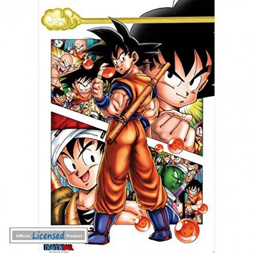 Dragonball Z - Son Goku Story Póster (98 x 68cm)