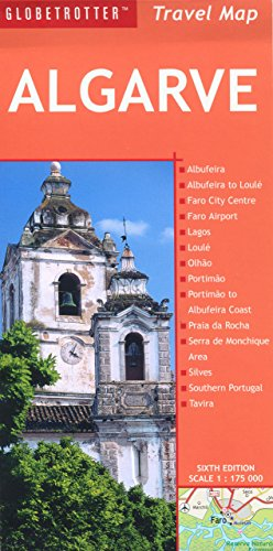 Algarve Travel Map (Globetrotter Travel Map)