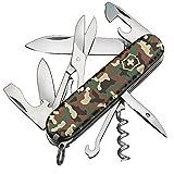 Victorinox Taschenmesser Climber (14 Funktionen, Klinge, Schere, Korkenzieher) camouflage