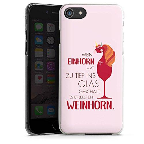 Apple iPhone X Silikon Hülle Case Schutzhülle statement humor visual statements Hard Case transparent