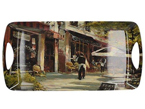 Creative Tops Petit Plateau Cafe Luxe Poignée en mélamine, Multicolore