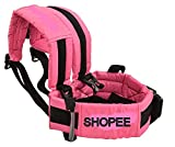 #5: SHOPEE BRANDED TWO WHEELER SAFETY SEAT BELT - Scooter/Bike/Car/Double Buckles/Adjustable/Front Standing/Seated Behind (BLACK COLOR)