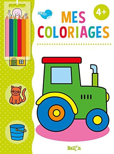 Mes coloriages dès 4 ans (avec crayons) par From Ballon Kids