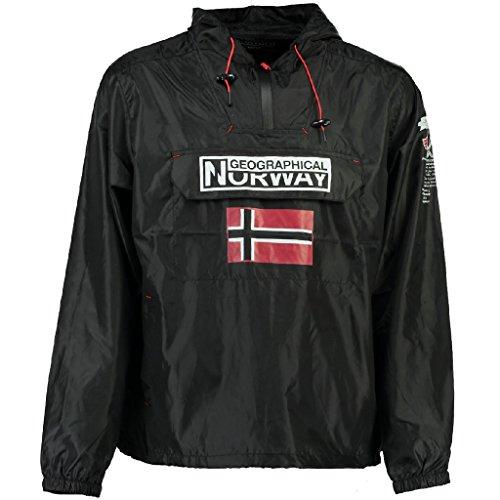 Geographical Norway Herren Regen Jacke BUTAGAZ MEN Black