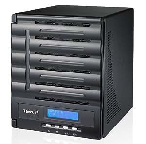 Thecus N5550 Serveur NAS Externe avec 5 Baies