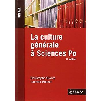 La culture générale à Sciences Po - 3e éd.
