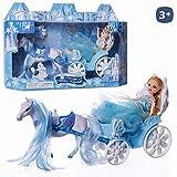Juguetes Industriales Carroza de Princesa Snow y muñeca Medidas 24 x ...
