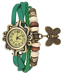 A&A CORP Dori Fashion Analog Watch Green Color for Woman and Girls