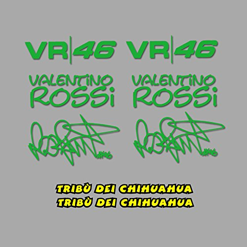 PEGATINAS-TRIBU-CHIHUAHUA-ROSSI-VR46-AM1-STICKERS-AUFKLEBER-DECALS-AUTOCOLLANTS-ADESIVI