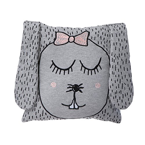 Ferm Living - Kissen Little Ms Rabbit 100 % Bio-Baumwolle 30 x 30 cm