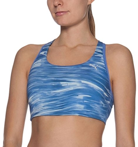 c100142793 4053986432910 EAN - Puma Women s Essential Graphic Bra Blue
