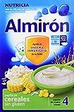 Almirón Papilla de cereales sin gluten a partir de 4 meses - Paquete de 3 x 500 gr - Total: 1500 g