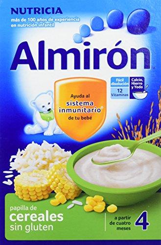 Papilla de maíz y arroz enriquecida ALMIRÓN (3 paquetes de 500 gr)