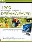 1500 Homepage Vorlagen für Dreamweaver