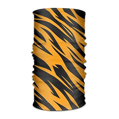 Wdskbg DNUPUP's Tiger Stripes Outdoor Magic Bandana Handwear UV Resistence Multi Function Headscarf for Running Yoga Sports Unisex New3