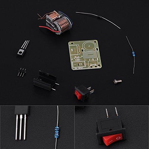 Zerone 2 Sets DC 3.7V~4.2V to 15KV High Voltage Pulse Generator Transformer Inverter Arc Igniter Coil Power Module Disassembled Parts