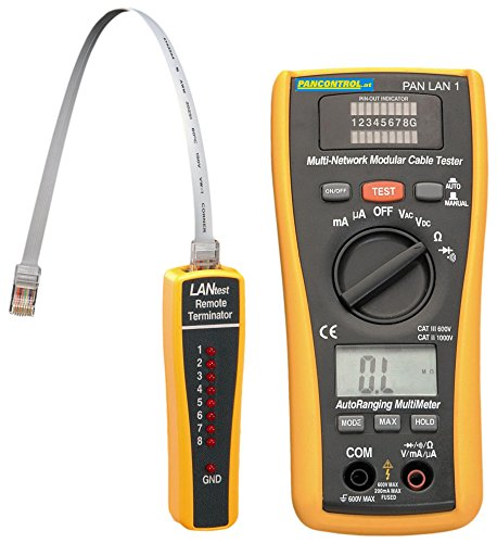 Fluke Bnc Adapter (Pancontrol PAN LAN1 LAN-Tester und Digital-Multimeter, 600 V)