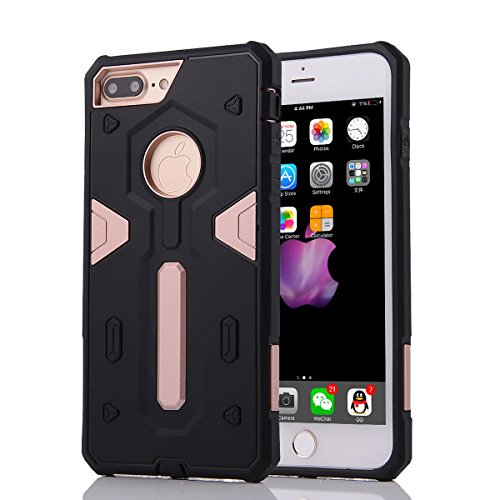 """HYAIT® For IPHONE 7 PLUS 5.5"""" [CONTRAST TRIANGLE]Case Dual Layer Hybrid Armor Rugged Plastic Hard Shell Flexible TPU Bumper Protective Cover-SJAE04 BHE06"""