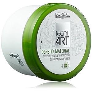 L'Oréal Paris Tecni Art 4 Density Material Wax-Paste gel para el cabello 100 ml – Geles para el cabello (Unisex, 100 ml, Fijación, Mate, Cazuela, 1 pieza(s))