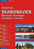 KUNTH Reiseatlas Skandinavien, Dänemark, Norwegen, Schweden, Finnland 1:800 000: 1:300000/1:950000 (KUNTH Reiseatlanten)