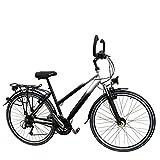 28' Zoll Aluminium 27 Gang Damen RH 46 cm Fahrrad STVZO Ausstattung Nabendynamo Federgabel