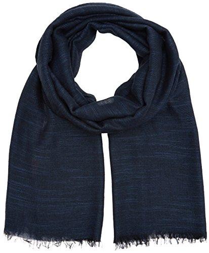 s.Oliver Herren Schal 97709915036 Blau (Blue Melange 59W1), One Size