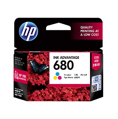 HP 680 Color Ink Cartridge F6V26AA 680 Col