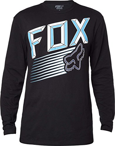 Fox Longsleeve Shirt Efficiency Schwarz Schwarz