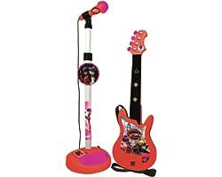 Reig 2675 Ladybug Guitare avec microphone et amplificateur