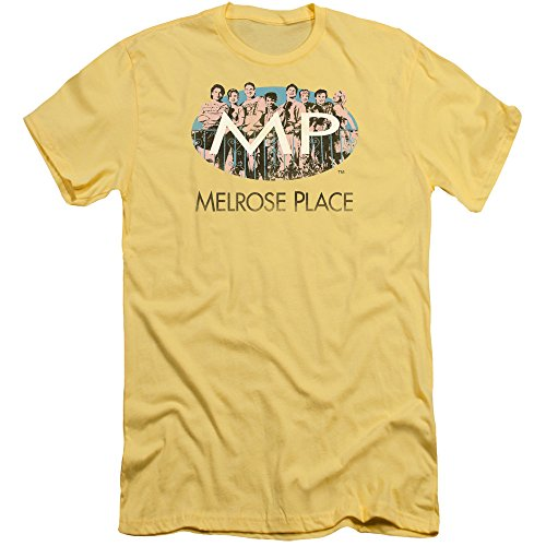 2Bhip Melrose Place CBS TV Series meet At The Place Adult Slim T-Shirt Tee