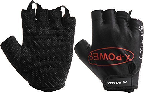 Vector X Vx 300 Gym Fitness Glove, Large (Black)