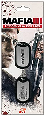 Mafia III Dog Tags Lincoln Clay from Gaya Entertainment