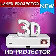 NIERBO 1080P Lámpara láser proyector HD 3D Home Theater Mini LED Wifi Proyector Android Bluetooth 3000 lúmenes 20000: 1 Contraste HDMI Beamer