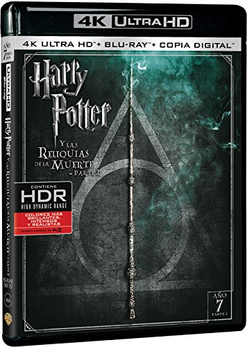 Harry Potter Y Las Reliquias De La Muerte Parte 2 (4K Ultra HD) [Blu-ray]