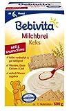 Bebivita Milchbrei Keks, 4er Pack (4 x 600 g Packung)