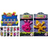 12 X Sticky Creatures Throwing Toys - Party Bag Filler